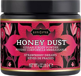 Free Kama Sutra Honey Dust Strawberry Dreams 6oz