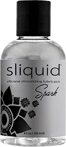 Sliquid Spark Booty Buzz Stimulating Silicone Lube 4.2oz