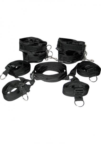 Manbound Under The Bed Restraint Gear Black