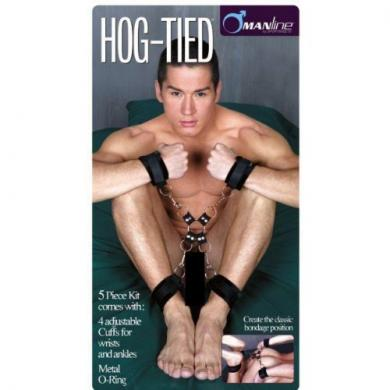 5 Piece Hog Tie and Cuff Set